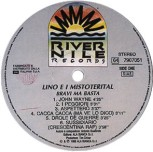 BRAVI MA BASTA Primo album di LMT, 1988 label lato A #LMT #linoeimistoterital #records #vinyle #theeighties #80s #bravimabasta #italianrock