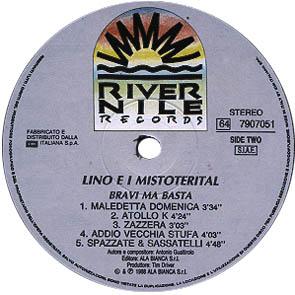 BRAVI MA BASTA Primo album di LMT, 1988 label lato B #LMT #linoeimistoterital #records #vinyle #theeighties #80s #bravimabasta #italianrock