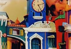 """La costruzione della copertina di """"Bravi Ma Basta"""", durata alcune ore più sei anni di blocco dei lavori per una faccenda poco chiara di appalti alla impresa edile """"Gandini & Barra O' Anemale"""". Poi ci fu una sanatoria in bianc e negher ma ormai l'album era uscito. #LMT #linoeimistoterital #records #vinyle #theeighties #80s #bravimabasta #italianrock"""