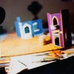 """La costruzione della copertina di """"Bravi Ma Basta"""", Sapienti maestri d'ascia erano a lavorare altrove. Qui solo cialtroni. #LMT #linoeimistoterital #records #vinyle #theeighties #80s #bravimabasta #italianrock"""
