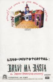 Con la consueta poverizia si allestiva un volantino con spazio libero per comunicazioni varie. #LMT #linoeimistoterital #records #tape #theeighties #80s #bravimabasta #italianrock
