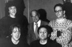 """Una sorpresa che non trovò posto su """"Altri Nani"""", per mere ragioni economiche: la piccola intrusione della voce di Sandro Ciotti, che fece una apparizione lampo a Bologna negli studi Sub-Cave, nel dicembre 1990. Questa """"chicca"""" verrà recuperata nel doppio CD con la ristampa dei dischi di LMT, in uscita a inizio 2018. #LMT #linoeimistoterital #records #vinyle #theeighties #80s #altrinani #italianrock #Bologna #sandrociotti"""