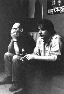 Le lunghe ore di studio di registrazione sono la Severa Cura visibile sui volti dei nostri amici (in questa foto: Ronnie e Steve Cotton).