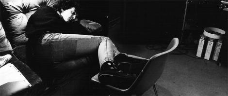 E alla fine il sonno ristoratore, col distorsore (1): Lauro O' Cardigan.
