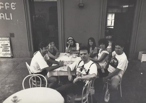 A Tremezzo (Co), per il concerto #150 di LMT, luglio 1990
