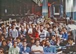"""Festa di presentazione per l'uscita di """"Bravi Ma Basta"""", deposito delle Locomotive FS, Bologna, 25/06/1988. Occasione per Grande Adunanza di Fansine e Fansieri! #LMT #Linoeimistoterital #BraviMaBasta #records #vinyle #Eighties #80s' #FS #trains #railways"""