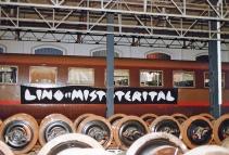 """Festa di presentazione per l'uscita di """"Bravi Ma Basta"""", deposito delle Locomotive FS, Bologna, 25/06/1988. #LMT #Linoeimistoterital #BraviMaBasta #records #vinyle #Eighties #80s'"""