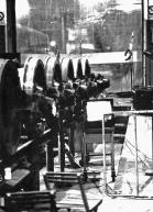 """Festa di presentazione per l'uscita di """"Bravi Ma Basta"""", deposito delle Locomotive FS, Bologna, 25/06/1988. #LMT #Linoeimistoterital #BraviMaBasta #records #vinyle #Eighties #80s' #FS #trains #railways"""